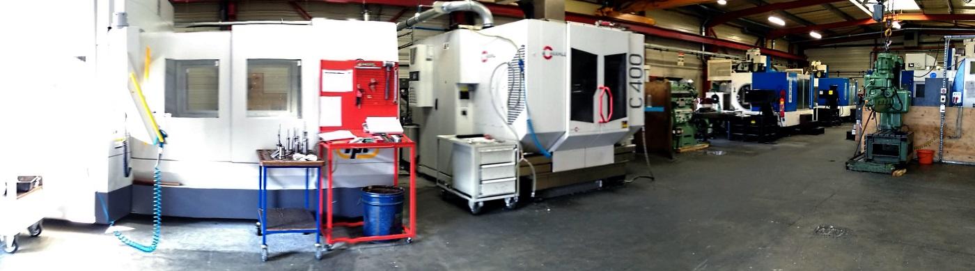 Atelier d'usinage - 6 fraiseuses UGV